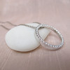 1.00ctw Circle Diamond Pendant 3