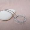 1.00ctw Circle Diamond Pendant 5