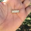 1.02ctw Antique Diamond Mosaic Plaque Pendant 3