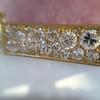 1.02ctw Antique Diamond Mosaic Plaque Pendant 14