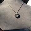 1.04ctw Victorian Rose Cut Diamond Pendant 13