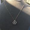 1.04ctw Victorian Rose Cut Diamond Pendant 1