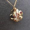 1.04ctw Victorian Rose Cut Diamond Pendant 3