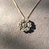 1.04ctw Victorian Rose Cut Diamond Pendant 10