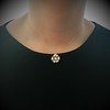1.04ctw Victorian Rose Cut Diamond Pendant 2