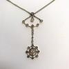 1.10ctw Victorian Fancy Diamond Pendant 11