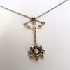 1.10ctw Victorian Fancy Diamond Pendant 10