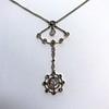 1.10ctw Victorian Fancy Diamond Pendant 1