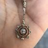 1.10ctw Victorian Fancy Diamond Pendant 4