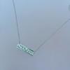 1.78ctw Diamond Mosaic Plaque Pendant, White Gold 4