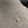1.20ct Old European Cut Diamond Bezel Necklace (AGS K SI1) 10