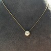 1.20ct Old European Cut Diamond Bezel Necklace (AGS K SI1) 8