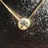 1.20ct Old European Cut Diamond Bezel Necklace (AGS K SI1) 13