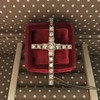 1.34ctw Art Deco Cross Pendant  0