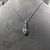 1.52ctw Edwardian Diamond Platinum Pendant 8