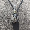 1.52ctw Edwardian Diamond Platinum Pendant 11