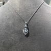 1.52ctw Edwardian Diamond Platinum Pendant 10