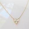1.54ct Trilliant Rose Cut Diamond Pendant 7
