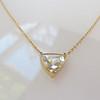 1.54ct Trilliant Rose Cut Diamond Pendant 0
