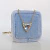 1.54ct Trilliant Rose Cut Diamond Pendant 1