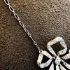 1.98ctw Edwardian Fancy Pave Bow Necklace 12