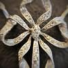1.98ctw Edwardian Fancy Pave Bow Necklace 14