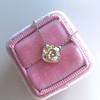 2.01ct Cushion Cut Diamond Bezel Necklace 29