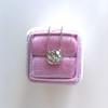 2.01ct Cushion Cut Diamond Bezel Necklace 32