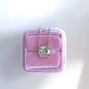 2.01ct Cushion Cut Diamond Bezel Necklace 7