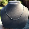 2.50ctw Diamonds-by-the-yard Necklace, Platinum 14
