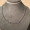 2.50ctw Diamonds-by-the-yard Necklace, Platinum 10