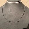 2.50ctw Diamonds-by-the-yard Necklace, Platinum 11