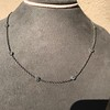 2.50ctw Diamonds-by-the-yard Necklace, Platinum 12