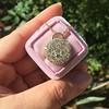 2.51ctw Mixed Antique Cut Diamond Disc Pendant 14