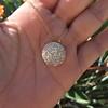 2.51ctw Mixed Antique Cut Diamond Disc Pendant 2