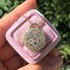 2.51ctw Mixed Antique Cut Diamond Disc Pendant 5