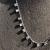 2.88ctw 18kt White Gold Scatter Necklace 5