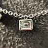 2.88ctw 18kt White Gold Scatter Necklace 7