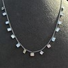2.88ctw 18kt White Gold Scatter Necklace 3
