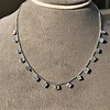 2.88ctw 18kt White Gold Scatter Necklace 10