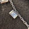 2.88ctw 18kt White Gold Scatter Necklace 8