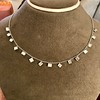 2.88ctw 18kt White Gold Scatter Necklace 0