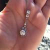 2.90ctw Edwardian Old European Cut Diamond Pendant 3