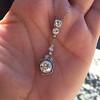 2.90ctw Edwardian Old European Cut Diamond Pendant 19
