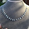 2.93ctw Mixed Step Cut Diamonds-by-the-yard Necklace 6