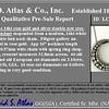 3.18ctw Victorian Diamond Crescent Pendant 2