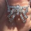 3.45ctw Art Deco Diamond and Platinum Pendant 26