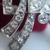3.45ctw Art Deco Diamond and Platinum Pendant 12