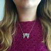 3.45ctw Art Deco Diamond and Platinum Pendant 5