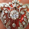 3.98ctw Edwardian Old European Cut Diamond and Platinum Pendant 5